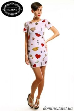 Платье с цветами http://tatet.ua/items1959-odezhda/f17578-20156/17602-20332 #цветы #ноги #одежда #магазин #мода
