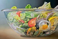 Mega Realistic Oil Paintings by Dutch Artist Tjalf Sparnaay Watercolor Food, Watercolor Paintings, Oil Paintings, Tjalf Sparnaay, Hyper Realistic Paintings, Food Artists, Food Painting, Dutch Artists, Realism Art