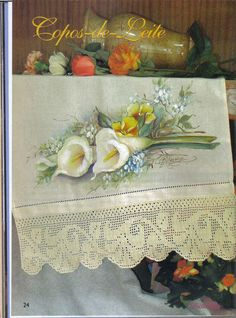 Pintura e Crochê - BIA MOREIRA - Crochet Arte 1 - neo neo - Álbuns da web do Picasa