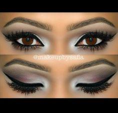 Summer Makeup Looks - Plum eyes inspired by makeupbysafia using motivescosmetics eyeshadows http://www.deperfectewimpers.nl