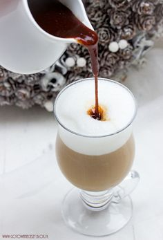 Syrop piernikowy do kawy Cocktails, Alcoholic Drinks, Smoothie, Cinnamon Syrup, Recipe Boards, Other Recipes, My Coffee, Gingerbread, Panna Cotta