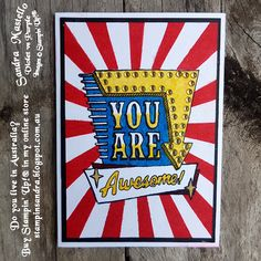 Marquee Messages for Gdp - Sandra Mastello, Violet vs Purple, Stampin' Up Demonstrator Australia