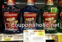 Publix: $0.50 bottles of Colgate Total Advanced Mouthwash with sale and stack! - http://www.couponaholic.net/2015/07/publix-0-50-bottles-of-colgate-total-advanced-mouthwash-with-sale-and-stack/