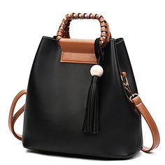JIARUO Winter Luxury Brand Designer Tassel Leather Women ...