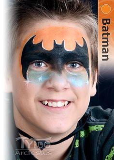 Batman arcfestés elkészítése lépésről lépésre