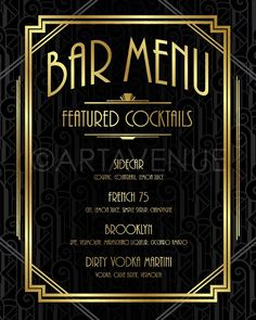 p/benutzerdefinierte-bar-menu-zeichen-druckbare-art-gatsby-bar-menu-gatsby-hochzeit-art-deco-menu delivers online tools that help you to stay in control of your personal information and protect your online privacy. Roaring 20s Birthday Party, Gatsby Themed Party, Gatsby Wedding, Wedding Art, Roaring 20s Theme, Wedding Posing, Roaring Twenties, Roaring 20s Wedding, Wedding Ideas