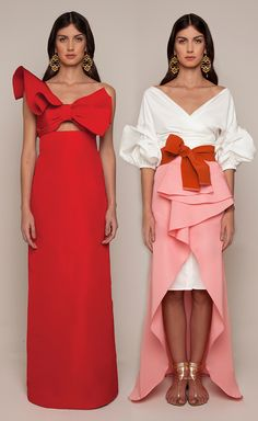 Johanna Ortiz Resort 2016 - Amapolia Dress, Tuxedo Dress and Petal Pareo Skirt