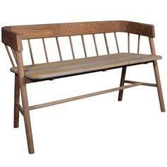 Dit geweldige houten bankje van HKliving kun je overal in huis kwijt! Een prachtig meubel met ronde afwerking en een doorlopende leuning. Combineer hem met vrolijk gekleurde kussens en/of een plaid voor een stijlvol, comfortabel geheel.
