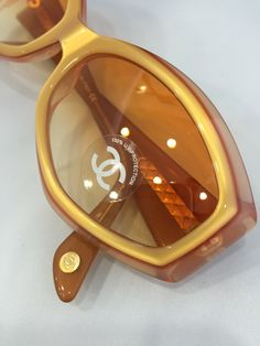 948804d07dd Chanel Tortoise Shell Frame - Sunglasses-5021 by athensoptical on Etsy Chanel  Glasses