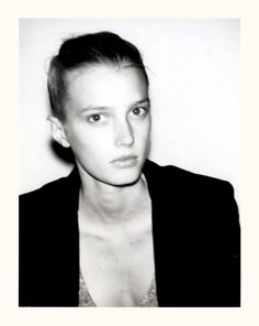 sigrid agren by ezra petronio for self service spring/summer 2011