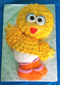 Baby Big Bird cake