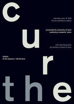 the cure at canterbury odeon, 1979 - swissted