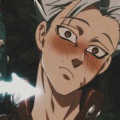 Seven Deadly Sins Anime, 7 Deadly Sins, Anime Angel, Ban And Elaine, Ban Anime, Animé Fan Art, Satsuriku No Tenshi, Anime Profile, Anime Shows