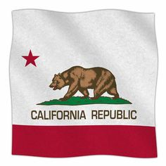 East Urban Home California State Flag by Bruce Stanfield Fleece Blanket Size: 80'' L x 60'' W