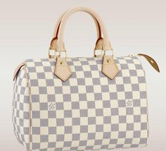 Louis Vuitton Speedy 25 in Damier Azur, Once I become a grown with a real job, this is seriously my first purchase!