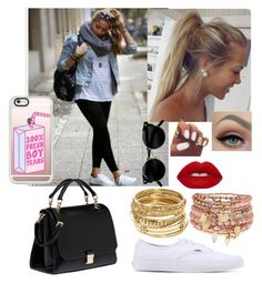 """""""Access all areas"""" by elliethemunchkin on Polyvore featuring Miu Miu, ABS by Allen Schwartz, Accessorize, Lime Crime, Vans and Casetify"""