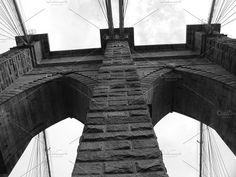 Brooklyn Bridge circa 2001 - Architecture
