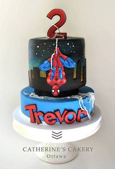 Great Spiderman cake