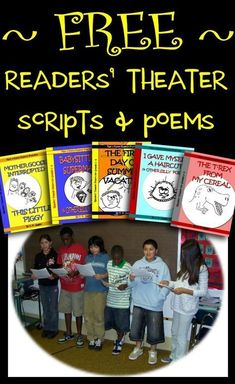 Free Readers' Theater Scripts