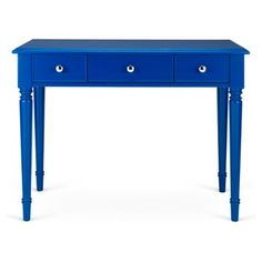Check out this item at One Kings Lane! Gwendolyn Desk, Navy