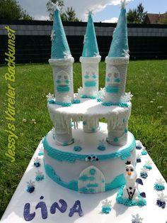 Frozen Schloss Torte