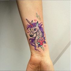Colorful unicorn. I love this