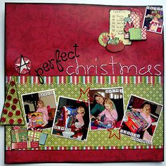 A Perfect Christmas Layout