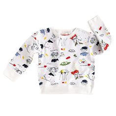 Sweatshirt with Artists Print by Nadadelazos - Junior Edition - 1
