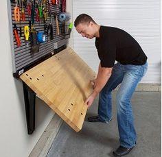 1000 images about garage on pinterest garage organization garage storage and garage - Space saving garage shelves ideas must have ...