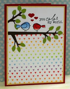 Designed by Kristii Lockart- love BB: Hearts with Itty Bitty Birds!