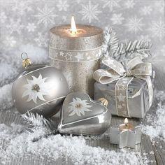 Silver Christmas, Christmas Colors, Christmas And New Year, Christmas Time, Vintage Christmas, Christmas Decorations, Christmas Collage, Xmas, Photography Basics