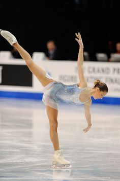Polina Korobeynikova-- love the way these skates look on the ice... Hopefully getting edeas at some point!