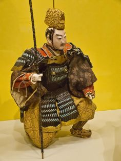 nihon-no-ningyou: A well-preserved gogatsu ningyo doll. 19th century, Japan.