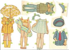 Mostly Paper Dolls