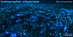 Holographic City Scape