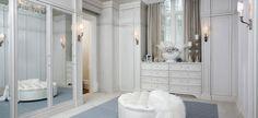 Bejárható garderobe szoba - minden nő álma