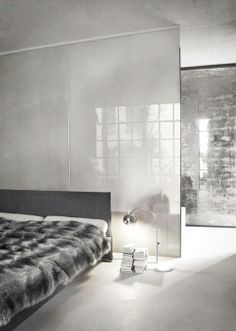 #bedroom #industrial #minimalism #grey