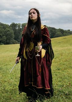 DeviantArt: More Like Druchii Costume (Larp) by FrolleinFuchs