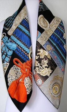 Image result for parures de samurai hermes Maison Hermes, Carré Hermes,  Echarpe, Foulard 7b159f5e16d