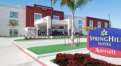SpringHill Suites Houston NASA/Seabrook Seabrook This hotel is located 10 minutes from Space Center Houston and El Jardin Beach.  It features a gym, outdoor pool, and studios with flat-screen TVs, free Wi-Fi, and kitchenettes.