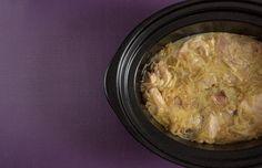 Crockpotting | Receta de bonito encebollado en Crock Pot | http://www.crockpotting.es