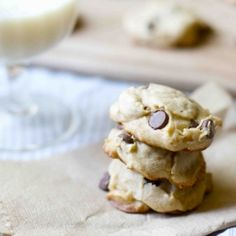 My new favorite chocolate chip cookies (with a secret ingredient!) #foodgawker