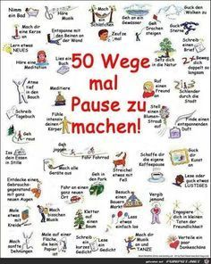 Warum Entspannung so wichtig ist – 6 Entspannungsmethoden gegen Stress Make sure you hit the wall in the study – the motivation to make a PAUSE – your dear home office workers out there ❤️︎ German Grammar, German Language Learning, Learn German, Anti Stress, Psychology Facts, Stress Management, Better Life, Good To Know, Happy Life
