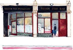 Golden Fish Bar Farringdon Rd 1000px