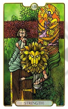 Self-control – Being solid – Patience – Compassion Composure – Stability – Perseverance – Moderation Kindness – Gentleness – Slowness – Softness Serenity – Comprehension – Discipline – Inner strength Strength Tarot, Inner Strength, Tarot The Fool, Tarot Cards Major Arcana, Symbolic Art, Online Tarot, Oracle Tarot, Tarot Card Decks, Archetypes