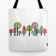 Forest Tote Bag by Isabel Valfigueira - $22.00