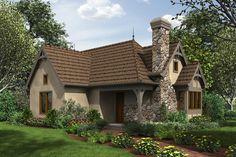 Cottage Style House Plan - 2 Beds 1 Baths 782 Sq/Ft Plan #48-653 Exterior - Front Elevation - Houseplans.com