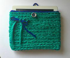 funda a crochet para ipad, 16,90€