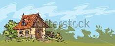 Resultado de imagen de dibujos casitas de campo