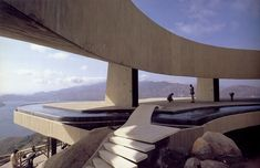somethingconstrued:  Marbrisa, John Lautner. Acapulco, Mexico 1973 Photo by Julius Shulman.